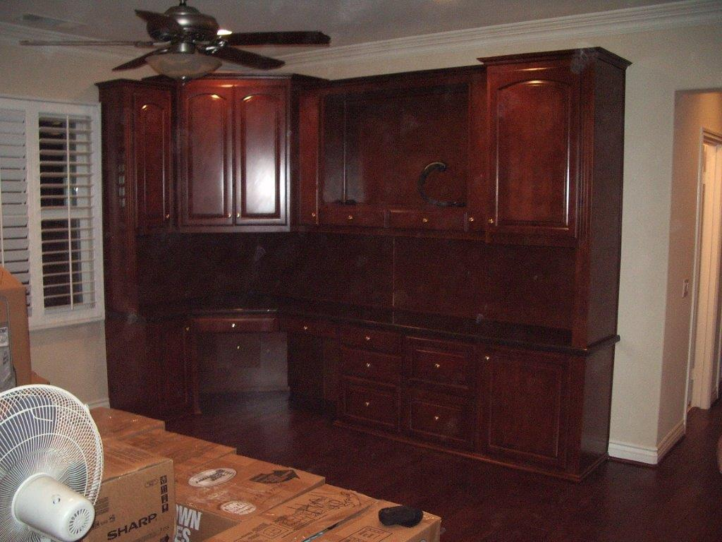 built in home office furniture and desks 89