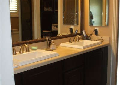 What's trending in bathroom vanity cabinets