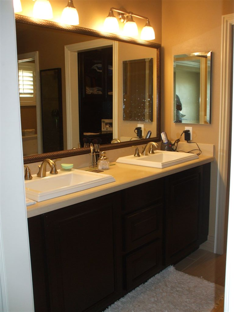 Custom bathroom vanities in Irvine, CA - Get A New Bathroom Vanity - Woodwork Creations