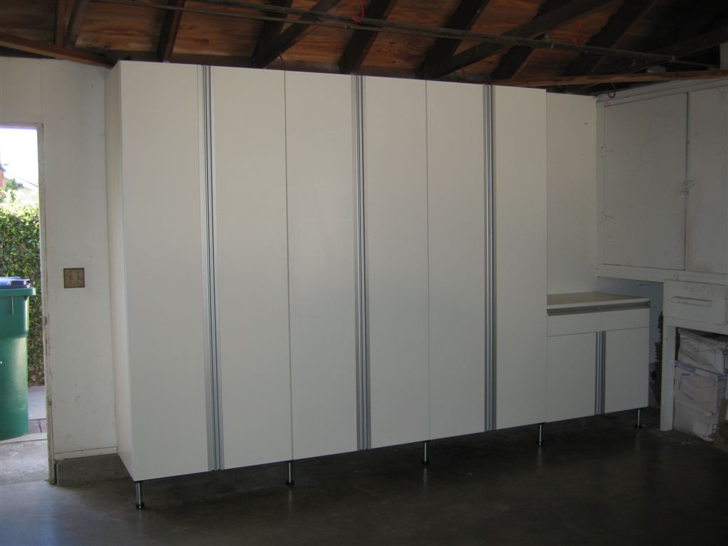 Garage storage cabinets call 888 201 wood 9663 for Garage cabinets