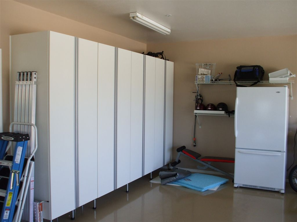 garage storage cabinets in southern california garage - Garage Wall Cabinets