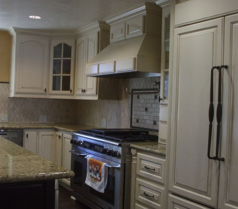 The experience of ordering kitchen cabinets