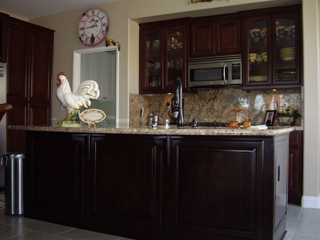 Kitchen Cabinets Orange County with Kitchen Cabinets With Custom Tile