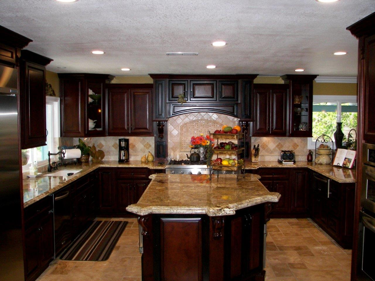 Kitchen design trend consistent kitchen island height woodwork
