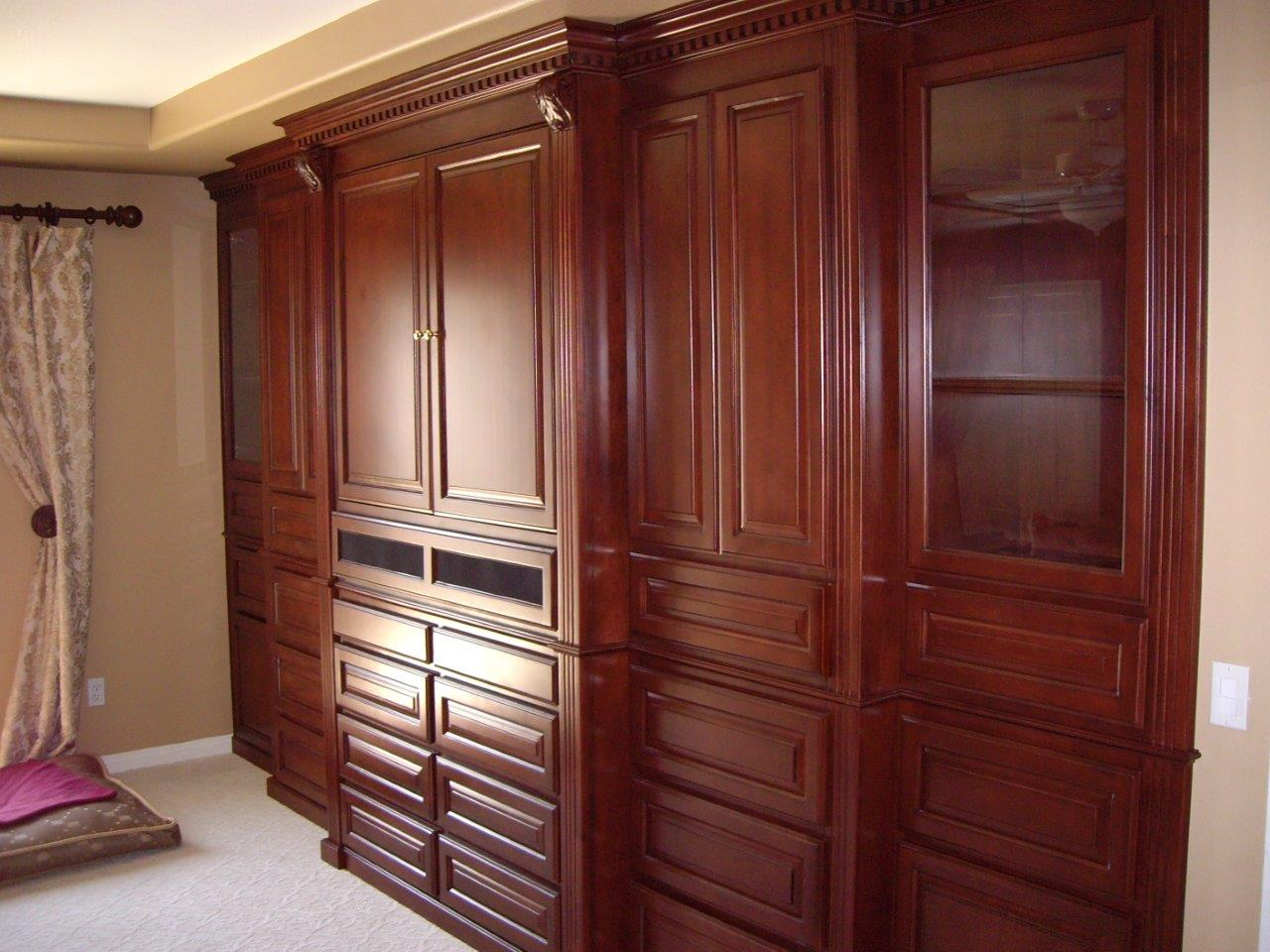 Murphy beds and bedroom cabinets woodwork creations Small wall cabinets for bedroom