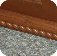 Rope base molding