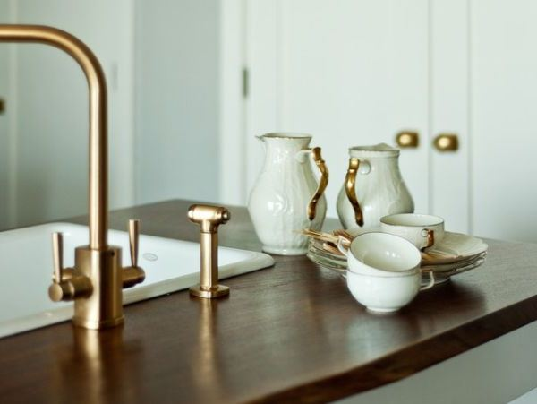 Are brass fixtures making a come-back?